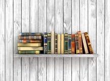 Kolorowe książki na ilustracja wektor