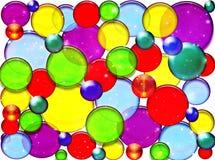 kolorowe kuleczki Obrazy Royalty Free