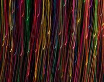 Kolorowe lekkie linie Obrazy Stock