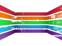 Kolorowe linie Fotografia Royalty Free