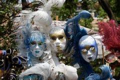 Kolorowe maski Wenecja Obrazy Royalty Free