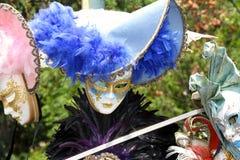 Kolorowe maski Wenecja Zdjęcia Stock