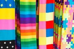 Kolorowe mod pończochy Obraz Stock