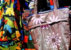 Kolorowe mod torebki Obraz Royalty Free