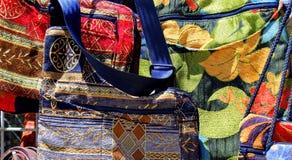 Kolorowe mod torebki Fotografia Royalty Free