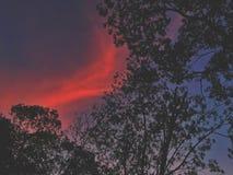 kolorowe niebo Obrazy Royalty Free