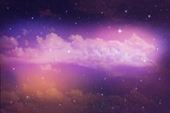 kolorowe nocne niebo Obraz Stock