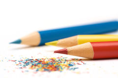 kolorowe ołówki fotografia stock