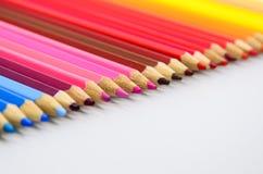 kolorowe ołówki royalty ilustracja