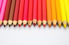 kolorowe ołówki ilustracji