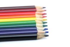 kolorowe ołówki Obraz Stock