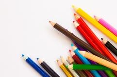 kolorowe ołówek Fotografia Stock