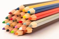 kolorowe ołówek Obrazy Royalty Free