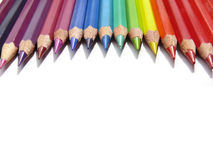 kolorowe ołówki Obrazy Stock