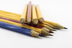 kolorowe ołówki Fotografia Royalty Free