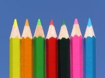 kolorowe ołówki Zdjęcie Royalty Free