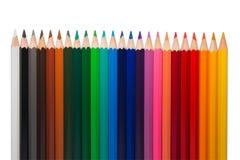 kolorowe ołówki kreskowi Obraz Royalty Free