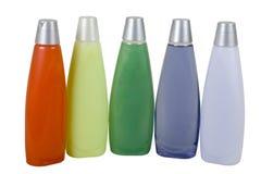 kolorowe odżywka szampon Zdjęcie Stock