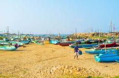 Kolorowe łodzie Zdjęcie Stock