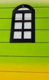 kolorowe okno Obrazy Stock