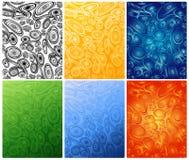 kolorowe ozdób ilustracji