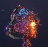 kolorowe pęcherzyk powietrza Fotografia Royalty Free