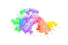 Kolorowe papier szpilki obraz royalty free