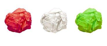 Kolorowe papierowe piłki Zdjęcie Stock