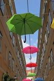 kolorowe parasole zdjęcia stock
