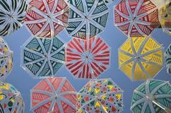 kolorowe parasole Fotografia Royalty Free