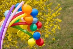 Kolorowe piłki Zdjęcie Stock