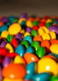 kolorowe pigułki zdjęcia stock