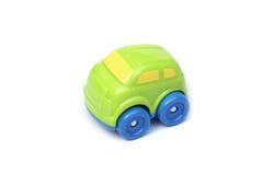 Kolorowe plastikowe samochód zabawki Zdjęcie Stock