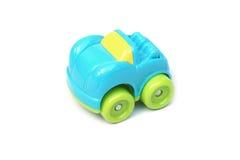 Kolorowe plastikowe samochód zabawki Zdjęcia Royalty Free