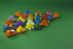 kolorowe plastikowe zabawki Zdjęcia Royalty Free