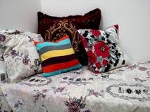 kolorowe poduszki obrazy royalty free
