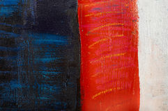 kolorowe pomalowane abstrakcyjne Zdjęcia Stock