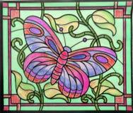 kolorowe pomalowane motyla Zdjęcia Royalty Free