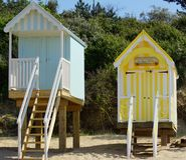 kolorowe pomieszczenia plażowych Obrazy Stock