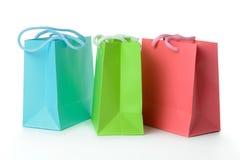 Kolorowe prezent torby obrazy stock