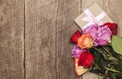 kolorowe róże obrazy stock
