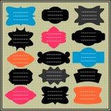 kolorowe ramy Ilustracji