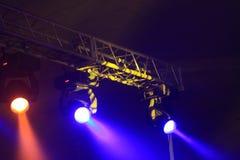 kolorowe reflektory 3 zdjęcia royalty free