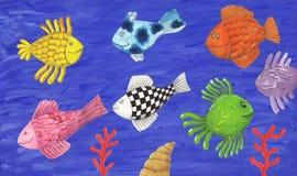 kolorowe ryba Zdjęcia Stock