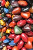 Kolorowe rzemienne kiesy Fotografia Royalty Free