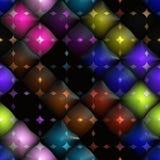 kolorowe sfery Fotografia Stock