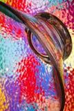 kolorowe szkło abstrakcyjne Obrazy Stock