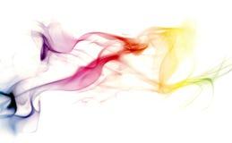 kolorowe tęcza dymu zdjęcia royalty free