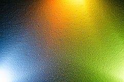 kolorowe tło Mieszać różnych kolory światło Zdjęcia Stock