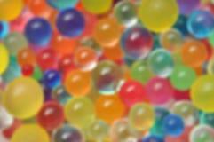 kolorowe tła abstrakcyjne Zamazane kolor sfery Zdjęcia Royalty Free